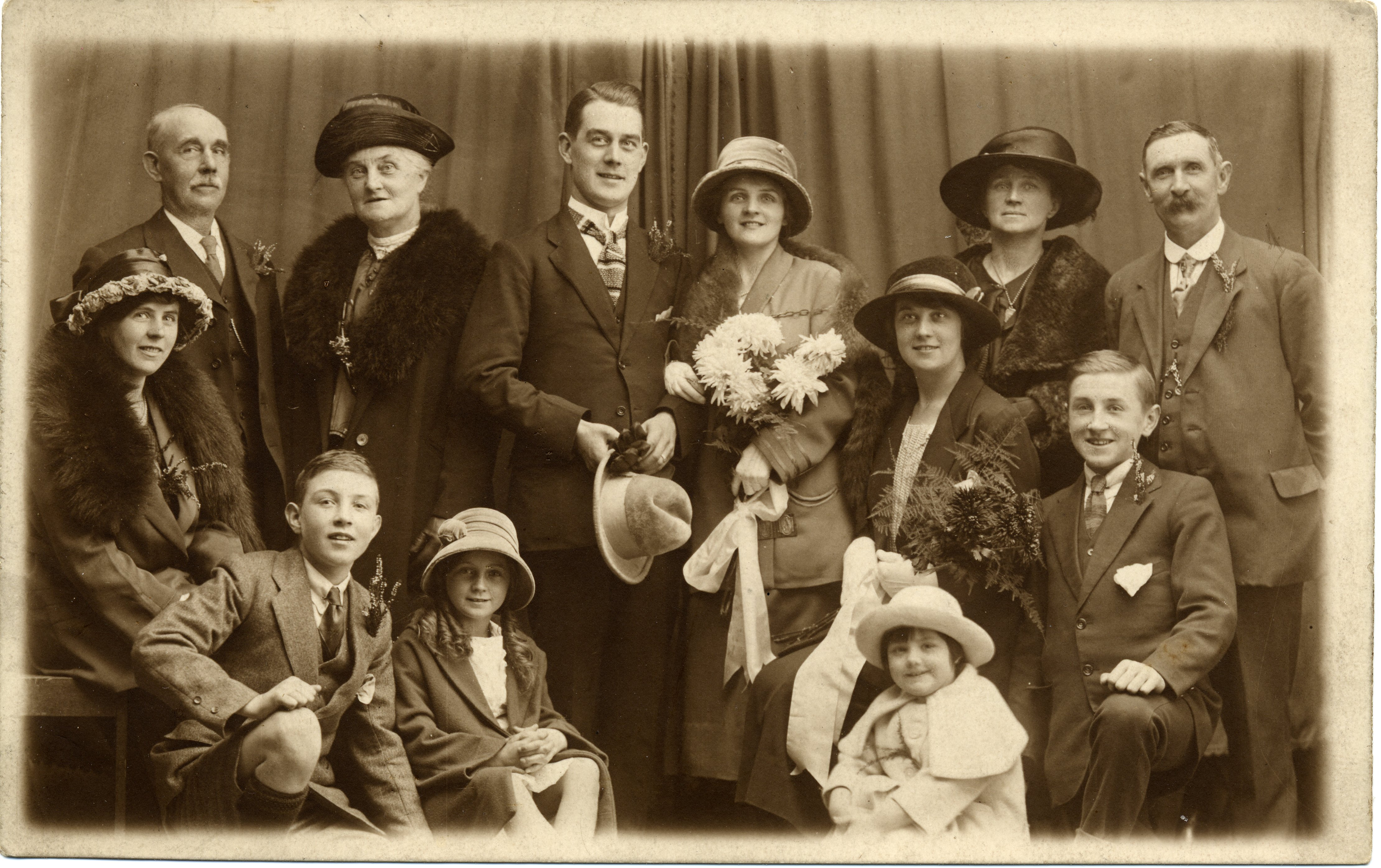 Isabel Bagnall marries Joe Marsh 20/10/1923