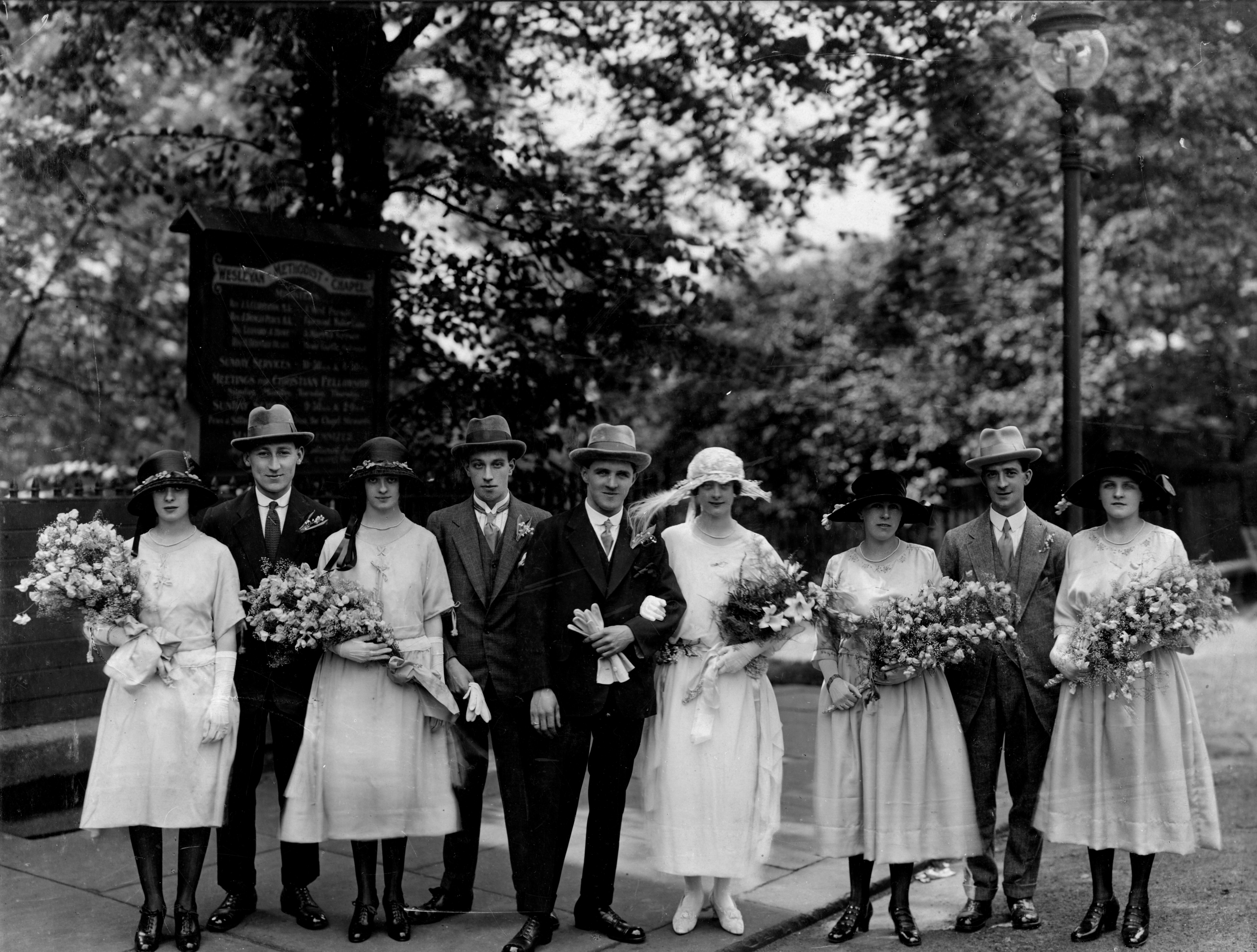 John Henry Bagnall marries Dorothy Townsend