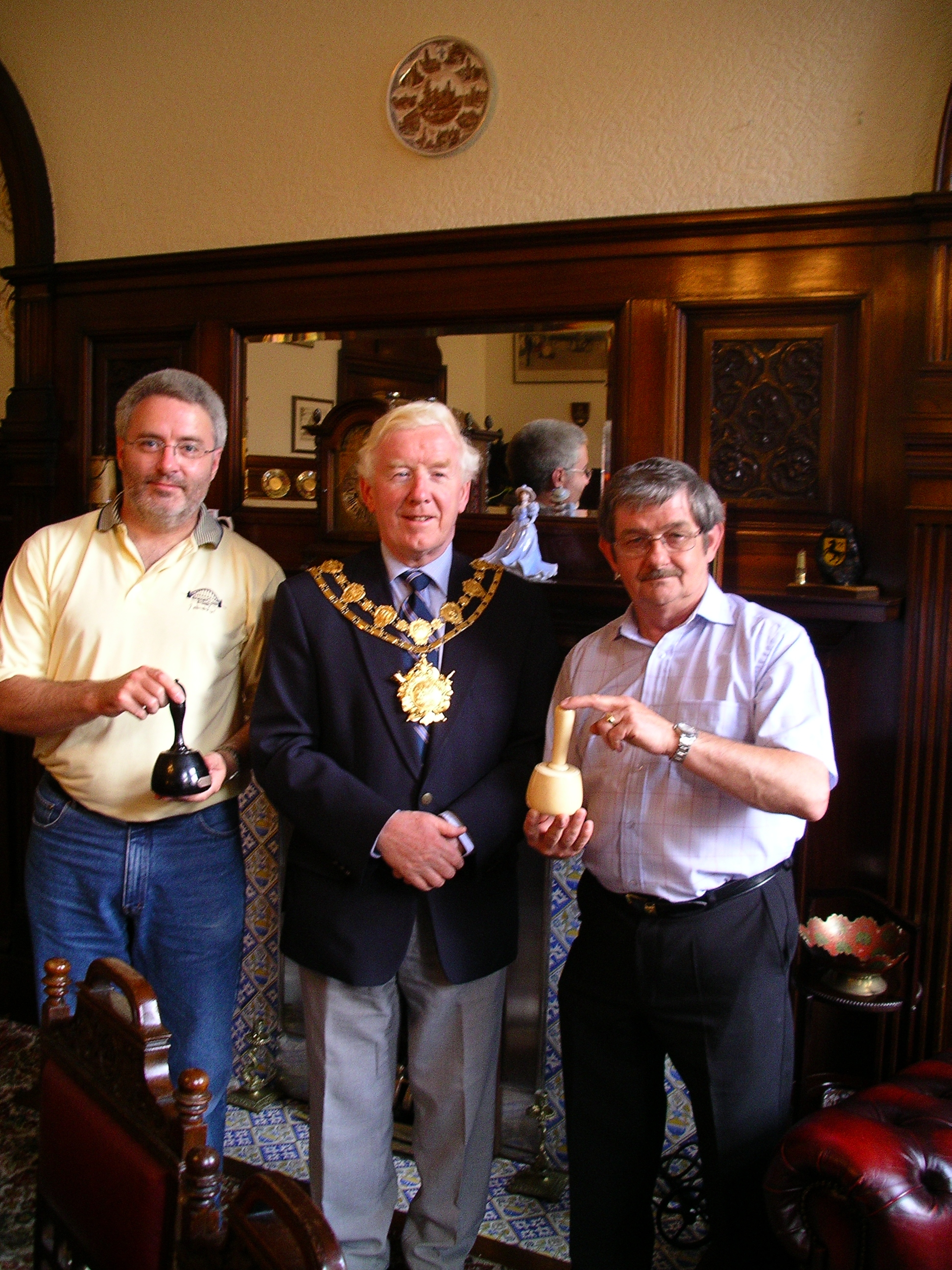 Meeting Patrick Bagnall & the Mayor of Wakefield